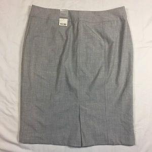 NWT Heather Gray Pencil Skirt
